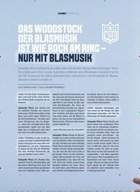 Titelbild der Ausgabe 1/2020 von DAS WOODSTOCK DER BLASMUSIK IST WIE ROCK AM RING - NUR MIT BLASMUSIK. Zeitschriften als Abo oder epaper bei United Kiosk online kaufen.