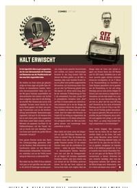 Titelbild der Ausgabe 2/2020 von KALT ERWISCHT. Zeitschriften als Abo oder epaper bei United Kiosk online kaufen.
