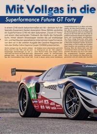 Titelbild der Ausgabe 1/2019 von Mit Vollgas in die Vergangenheit: Superformance Future GT Forty. Zeitschriften als Abo oder epaper bei United Kiosk online kaufen.