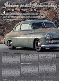 Titelbild der Ausgabe 1/2019 von Strom statt Stromberg: 1949er Mercury Coupe. Zeitschriften als Abo oder epaper bei United Kiosk online kaufen.