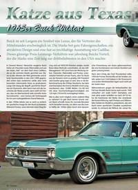 Titelbild der Ausgabe 1/2019 von Katze aus Texas: 1965er Buick Wildcat. Zeitschriften als Abo oder epaper bei United Kiosk online kaufen.