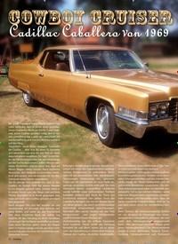Titelbild der Ausgabe 2/2019 von COWBOY CRUISER: Cadillac Caballero Von 1969. Zeitschriften als Abo oder epaper bei United Kiosk online kaufen.