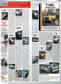 Titelbild der Ausgabe 3/2019 von Die Geschichte eines vergessenen Plymouth 1969er Plymouth GTX. Zeitschriften als Abo oder epaper bei United Kiosk online kaufen.