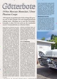 Titelbild der Ausgabe 6/2019 von Götterbote: 1958er Mercury Montclair 2 Door Phaeton Coupe. Zeitschriften als Abo oder epaper bei United Kiosk online kaufen.