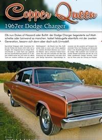 Titelbild der Ausgabe 6/2019 von Copper Queen: 1967er Dodge Changer. Zeitschriften als Abo oder epaper bei United Kiosk online kaufen.