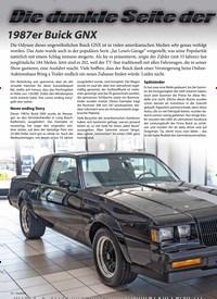 Titelbild der Ausgabe 2/2020 von Die dunkle seite der: 1987 er Buick GNX Macht. Zeitschriften als Abo oder epaper bei United Kiosk online kaufen.