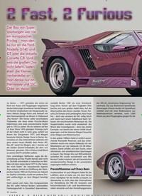 Titelbild der Ausgabe 2/2020 von 2 Fast 2 Furious: 1991 er Vector W8. Zeitschriften als Abo oder epaper bei United Kiosk online kaufen.