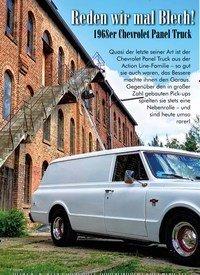 Titelbild der Ausgabe 4/2019 von Reden wir mal Blech!: 1968er Chevrolet Panel Truck. Zeitschriften als Abo oder epaper bei United Kiosk online kaufen.