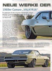"""Titelbild der Ausgabe 1/2020 von NEUE WERKE DER RINGBROTHERS: 1969er Camaro """"VALKYRJA"""". Zeitschriften als Abo oder epaper bei United Kiosk online kaufen."""