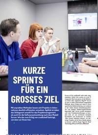 Titelbild der Ausgabe 2/2019 von Blick hinter die Kulissen: URZE SP RINTS FÜR EIN GROSSES ZIEL. Zeitschriften als Abo oder epaper bei United Kiosk online kaufen.