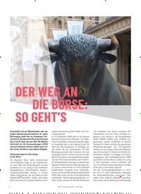 Titelbild der Ausgabe 4/2019 von DER WEG AN DIE BÖRSE: SO GEHT'S. Zeitschriften als Abo oder epaper bei United Kiosk online kaufen.