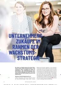 Titelbild der Ausgabe 4/2019 von UNTERNEHMENSZUKÄUFE IM RAHMEN DER WACHSTUMSSTRATEGIE. Zeitschriften als Abo oder epaper bei United Kiosk online kaufen.