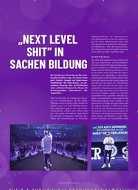 """Titelbild der Ausgabe 1/2020 von """"NEXT LEVEL SHIT"""" IN SACHEN BILDUNG. Zeitschriften als Abo oder epaper bei United Kiosk online kaufen."""