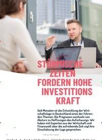 Titelbild der Ausgabe 1/2020 von STÜRMISCHE ZEITEN FORDERN HOHE INVESTITIONS KRAFT. Zeitschriften als Abo oder epaper bei United Kiosk online kaufen.