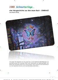 Titelbild der Ausgabe 1/2020 von 1001 Schmetterlinge… eine Herzgeschichte aus dem neuen Buch – EMBRACE. Zeitschriften als Abo oder epaper bei United Kiosk online kaufen.