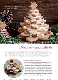 Titelbild der Ausgabe 30/2018 von WEIHNACHTSSCHMUCK ZUM NASCHEN: Dekorativ und deliziös. Zeitschriften als Abo oder epaper bei United Kiosk online kaufen.