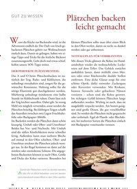 Titelbild der Ausgabe 30/2018 von GUT ZU WISSEN: Plätzchen backen leicht gemacht. Zeitschriften als Abo oder epaper bei United Kiosk online kaufen.