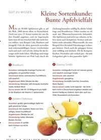 Titelbild der Ausgabe 40/2020 von GUT ZU WISSEN: Kleine Sortenkunde: Bunte Apfelvielfalt. Zeitschriften als Abo oder epaper bei United Kiosk online kaufen.