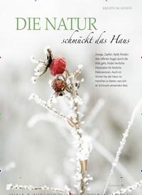Titelbild der Ausgabe 1/2019 von DIE NATUR schmückt das Haus. Zeitschriften als Abo oder epaper bei United Kiosk online kaufen.