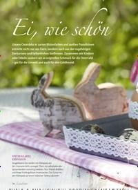 Titelbild der Ausgabe 1/2020 von Ei, wie schön. Zeitschriften als Abo oder epaper bei United Kiosk online kaufen.
