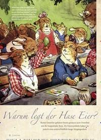Titelbild der Ausgabe 1/2020 von Warum legt der Hase Eier?. Zeitschriften als Abo oder epaper bei United Kiosk online kaufen.