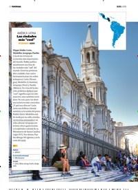 """Titelbild der Ausgabe 6/2018 von AMÉRICA LATINA: Las ciudades más """"cool"""". Zeitschriften als Abo oder epaper bei United Kiosk online kaufen."""