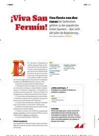 Titelbild der Ausgabe 7/2018 von DEBATE: ¡Viva San Fermín!. Zeitschriften als Abo oder epaper bei United Kiosk online kaufen.