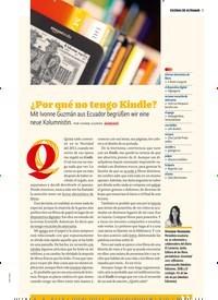 Titelbild der Ausgabe 8/2018 von ESCENAS DE ULTRAMAR: ¿Por qué no tengo Kindle? Mit Ivonne Guzmán aus Ecuador begrüßen wir eine neue Kolumnistin.. Zeitschriften als Abo oder epaper bei United Kiosk online kaufen.
