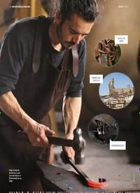 Titelbild der Ausgabe 8/2018 von UN DÍA EN LA VIDA DE… Iñaki Canterla El forjador de Frías. Zeitschriften als Abo oder epaper bei United Kiosk online kaufen.