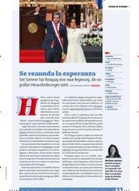 Titelbild der Ausgabe 1/2019 von ESCENAS DE ULTRAMAR: Se reanuda la esperanza. Zeitschriften als Abo oder epaper bei United Kiosk online kaufen.