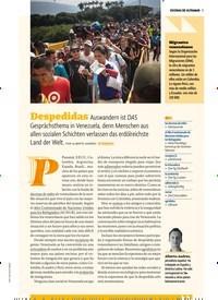 Titelbild der Ausgabe 2/2019 von ESCENAS DE ULTRAMAR: Despedidas. Zeitschriften als Abo oder epaper bei United Kiosk online kaufen.