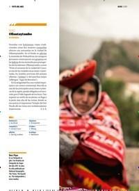 Titelbild der Ausgabe 5/2019 von FOTO DEL MES :PERÚ :Ollantaytambo. Zeitschriften als Abo oder epaper bei United Kiosk online kaufen.