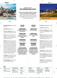 Titelbild der Ausgabe 6/2019 von AMÉRICA LATINA: Dos ciudades junto al mar. Zeitschriften als Abo oder epaper bei United Kiosk online kaufen.