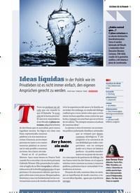 Titelbild der Ausgabe 6/2019 von Ideas líquidas. Zeitschriften als Abo oder epaper bei United Kiosk online kaufen.