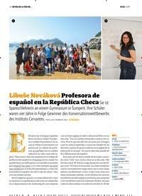 Titelbild der Ausgabe 6/2019 von Libuše Nováková Profesora de español en la República Checa. Zeitschriften als Abo oder epaper bei United Kiosk online kaufen.
