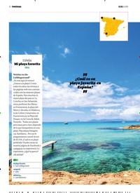 Titelbild der Ausgabe 8/2019 von PANORAMA: ESPAÑA: Mi playa favorita: FÁCIL. Zeitschriften als Abo oder epaper bei United Kiosk online kaufen.