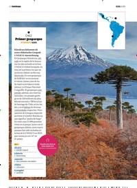 Titelbild der Ausgabe 8/2019 von PANORAMA: 1 CHILE. Zeitschriften als Abo oder epaper bei United Kiosk online kaufen.