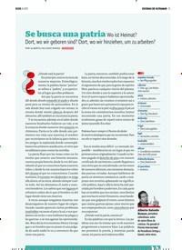 Titelbild der Ausgabe 8/2019 von ESCENAS DE ULTRAMAR: Se busca una patria. Zeitschriften als Abo oder epaper bei United Kiosk online kaufen.