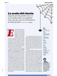 Titelbild der Ausgabe 9/2019 von La araña del rincón. Zeitschriften als Abo oder epaper bei United Kiosk online kaufen.