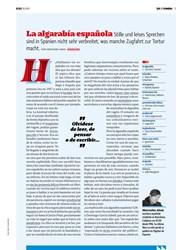 Titelbild der Ausgabe 10/2019 von SOL Y SOMBRA: La algarabía española. Zeitschriften als Abo oder epaper bei United Kiosk online kaufen.