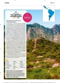 Titelbild der Ausgabe 13/2019 von PANORAMA: 1 ARGENTINA: Una capital inca en el país austral. Zeitschriften als Abo oder epaper bei United Kiosk online kaufen.