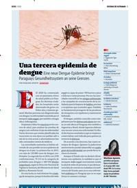 Titelbild der Ausgabe 3/2020 von ESCENAS DE ULTRAMAR: Una tercera epidemia de dengue. Zeitschriften als Abo oder epaper bei United Kiosk online kaufen.