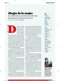 Titelbild der Ausgabe 4/2020 von ESCENAS DE ULTRAMAR: Elogio de la mujer. Zeitschriften als Abo oder epaper bei United Kiosk online kaufen.