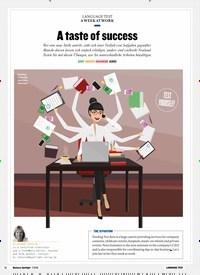 Titelbild der Ausgabe 7/2018 von A WEEK AT WORK: A taste of success. Zeitschriften als Abo oder epaper bei United Kiosk online kaufen.