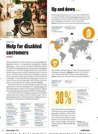 Titelbild der Ausgabe 2/2019 von BRITAIN: Help for disabled customers. Zeitschriften als Abo oder epaper bei United Kiosk online kaufen.