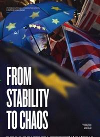 Titelbild der Ausgabe 2/2019 von UNITED KINGDOM: FROM STABILITY TO CHAOS. Zeitschriften als Abo oder epaper bei United Kiosk online kaufen.