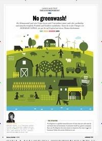 Titelbild der Ausgabe 3/2019 von THE ENVIRONMENT: No greenwash!. Zeitschriften als Abo oder epaper bei United Kiosk online kaufen.