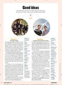 Titelbild der Ausgabe 5/2019 von Good ideas: MEDIUM. Zeitschriften als Abo oder epaper bei United Kiosk online kaufen.