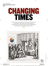 Titelbild der Ausgabe 7/2019 von BUSINESS ENGLISH TODAY: CHANGING TIMES. Zeitschriften als Abo oder epaper bei United Kiosk online kaufen.