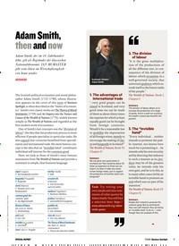 Titelbild der Ausgabe 7/2019 von Adam Smith, then and now. Zeitschriften als Abo oder epaper bei United Kiosk online kaufen.